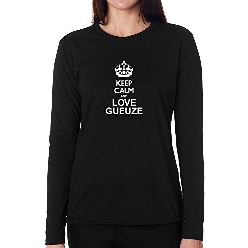 keep-calm-and-love-gueuze-women-long-sleeve-t-shirt