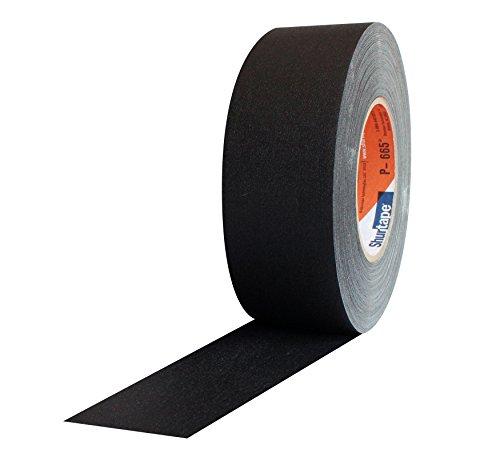 ProTapes 306P665255MBLASW Black Shurtape P-665 Gaffers Tape, 55 yd, 2