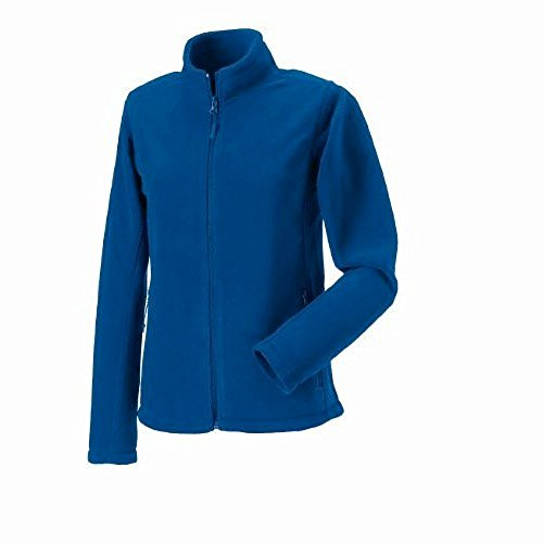 Jerzees - Giacca in Pile con Zip - Donna Blu Reale Acceso