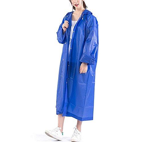 Perméable Capuchon Fashion E Manteau À Cape Mode Clothing L'air Imperméable Perspective Pluie Uni Élégant Oversize Outdoor De Poncho Manche Casual Adulte wSZ7xCIqC