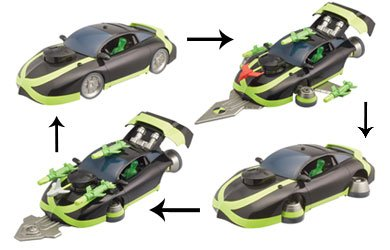 Ben 10 Vehicles - Ben 10 Deluxe Vehicle  Ben's Mark 10