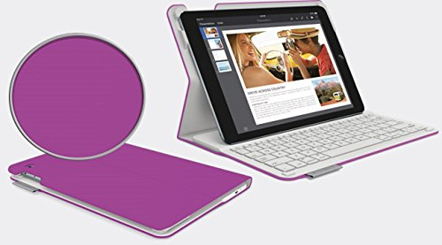Logitech Type+ Bluetooth Keyboard Case for iPad Air 2 - Violet / Purple (Ipad Air 2 Logitech Type+)
