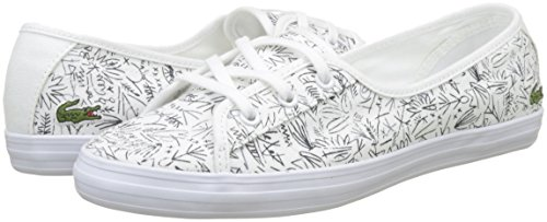 Mujer Caw Blanco wht Chunky Zapatillas Ziane 042 1 Para nvy 218 Lacoste qHO0gwH