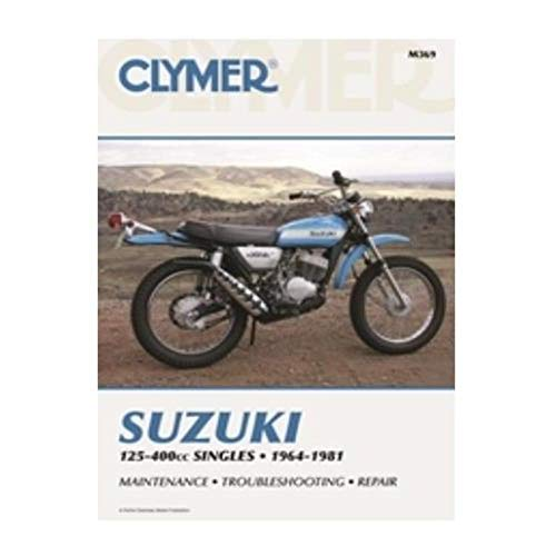 Used, Clymer Repair Manual for Suzuki 125-400 Sing