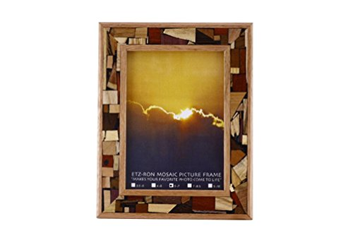 Mosaic Photo Frame - Wooden Picture Frame - Home Decor