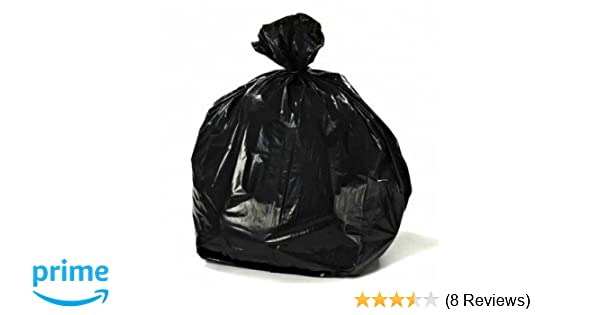 Amazon.com: Plasticplace 40-45 Gallon Trash Bags, 2.3 Mil, 40