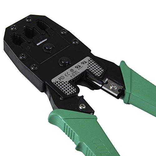 Outil à sertir pour câble CAT 5e RJ458P8C Plugs et non à cliquet cablesuk