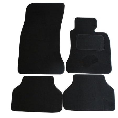 Fully Tailored Car Mat Set Black 4 Pieces
