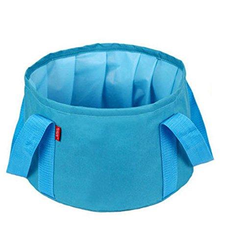 Durable Plegable Tela portátil Cubo Cuadrado pecera Caja de Aparejos Acuarela para Pesca al Aire Libre SH-MX-06 Azul: Amazon.es: Hogar