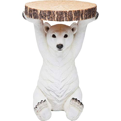 KARE 78942 Table D Polar Bear White 78943