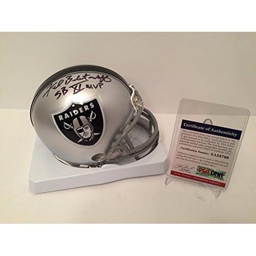 super popular 5aa61 a26a0 Sb Mvp Fred Biletnikoff Signed Autograph Raiders Mini-Helmet ...