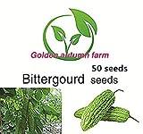 Golden autumn farm- Bitter Gourd Seeds 50