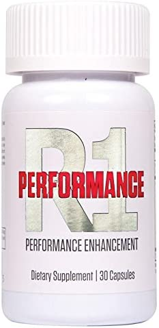 N.1 Performance R1 Stamina Energy Endurance Size - for Men and Women Increases Performance Stamina and Energy Male Enhancer Gym Power Pills Workout Supplement 24/7