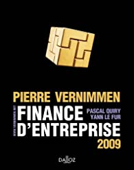 Finance d'Entreprise 2009 - 7e ed. par Pierre Vernimmen