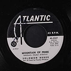 Solomon Burke I Feel A Sin Coming On Mountain Of Pride