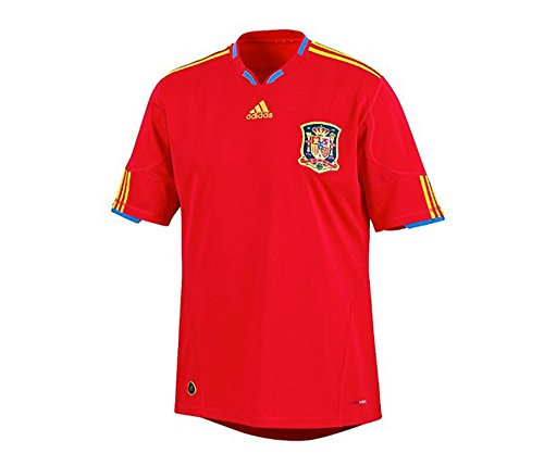 Adidas Spain World Cup - Spain Home Jersey (Red, XLarge)