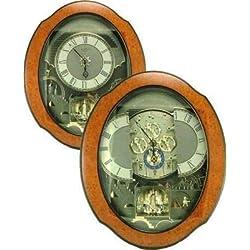 Rhythm Magic Motion Musical Clock - Timecracker Ultra II - (Micro Fiber Cloth Incl.)