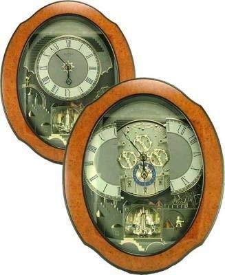 Rhythm Magic Motion Musical Clock – Timecracker Ultra II – Micro Fiber Cloth Incl.