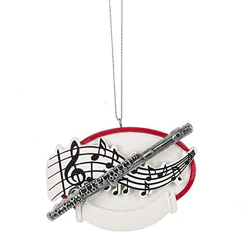 (Flute Musical Instrument Personalized Ornament)