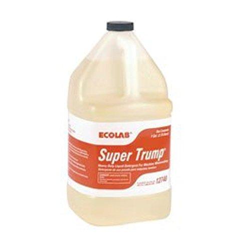 ECOLAB Super Trump 6112740 Detergent for Machine Warewashing- 1 Gallon