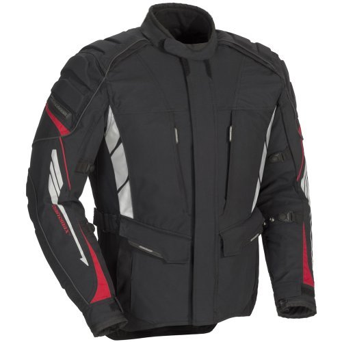 Fieldsheer Adventure Tour Women's Textile On-Road Motorcycle Jacket - Black / (Adventure Textile Jacket)