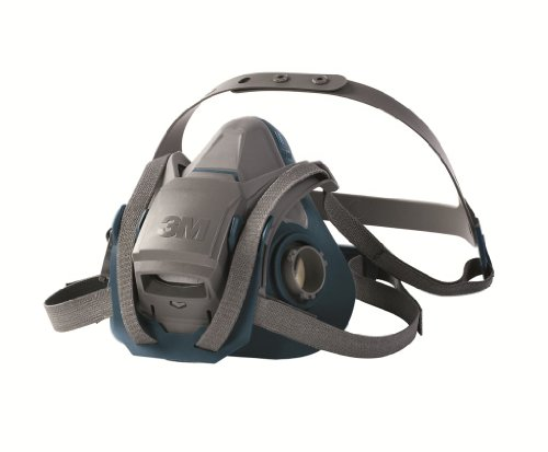 3M Rugged Comfort Quick Latch Half Facepiece Reusable Respirator 6503QL/49492, Large by 3M Personal Protective Equipment (Image #3)