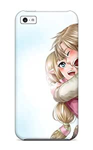 DanRobertse Shockproof Scratcheproof Legend Of Zelda Anime Videogames Hard Case Cover For Iphone 5c
