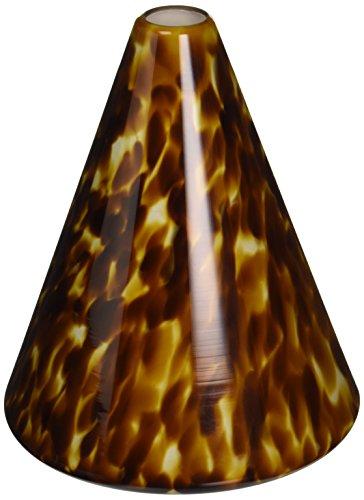 Nora Lighting NRS80-475AM Bonita Cone Glass Shade Monorail Head