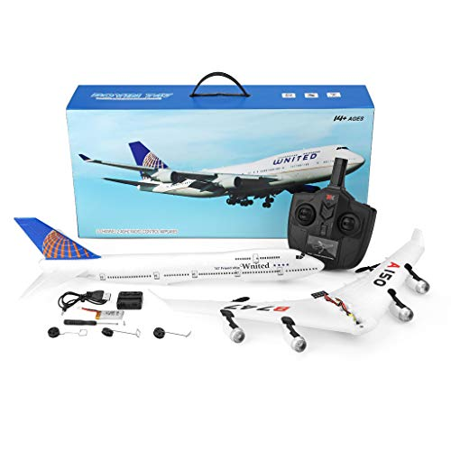 Clearance Sale!DEESEE(TM)WLtoys A150- B747 3CH 2.4G RC Airplane RTF Remote Control Glider -