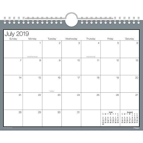 - Mead 2019-2020 Academic Year Wall Calendar, Small, 8-1/2