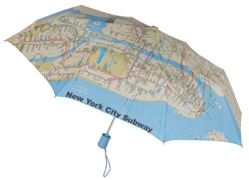 new-york-city-subway-map-compact-folding-windproof-auto-open-umbrella