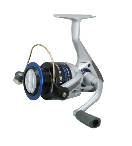 Cheap OKUMA SNa-25-CL Safina Spinning Reel in Clam Pack (Medium)