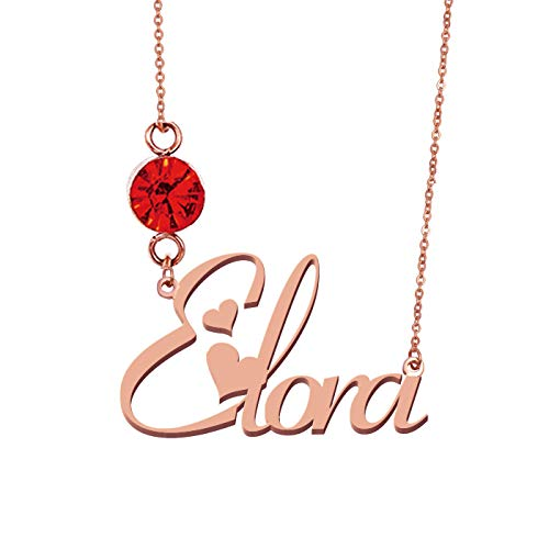 HUAN XUN Personalized Custom Any Name Necklace -