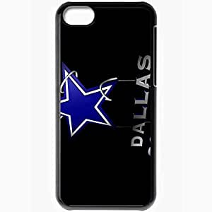 Personalized iPhone 5C Cell phone Case/Cover Skin 1372 dallas cowboys Black