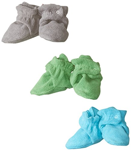 Zutano Stay Baby Booties Gift