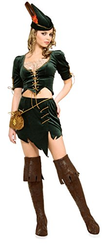 Princess Of Thieves (robin Hood) - Secret Wishes - Adult Fancy Dress Costume (Thief Costume Couple)