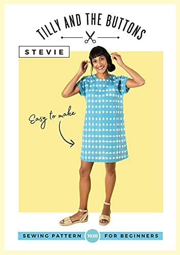 Womens BEGINNER The Stevie Tunic UK SIZES 6-20 Ladies Sewing Pattern
