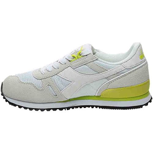 Diadora Mens Titan Ii W Skate Shoe Green; Bianco