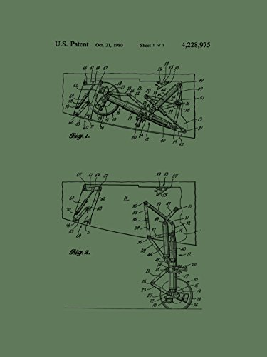 Framable Patent Art the Original Ready to Frame Décor Air...