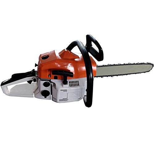 TINTON LIFE 22'' 52CC 3HP 2.2KW Gasoline Petrol Powered Top Handle Two-Stroke Chainsaw by TINTON LIFE