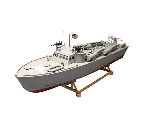 Higgins PT212 Patrol Torpedo Boat Kit w/8