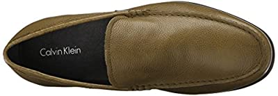 Calvin Klein Men's Landen Tumbled Leather Slip-On Loafer