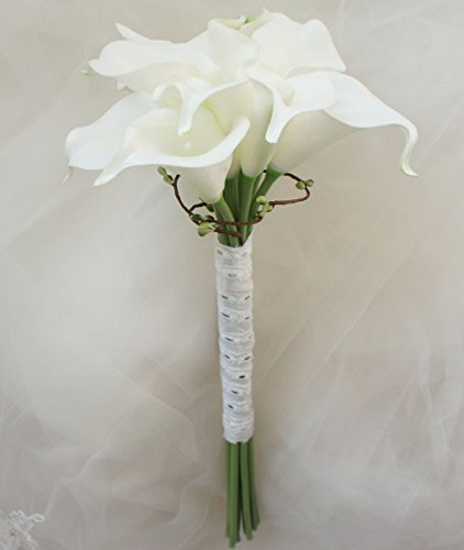 White Calla Lily Bouquet (Lily Garden Mini 15