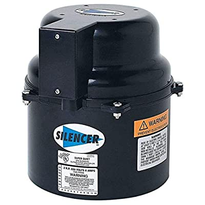 Air Supply Silencer Blower Motor 1.5HP 240V 3.5 AMPS : Garden & Outdoor