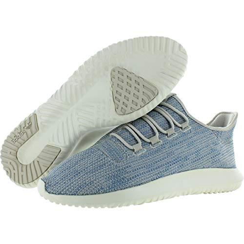 adidas Originals Men's Tubular Shadow Ck Fashion Sneakers Running Shoe, Clear Brown/Tactile Blue/Chalk White, 5.5 M US