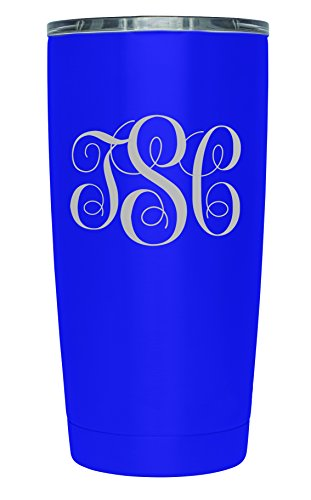 Personalized TSC Powder Coated Stainless Steel Double Walled