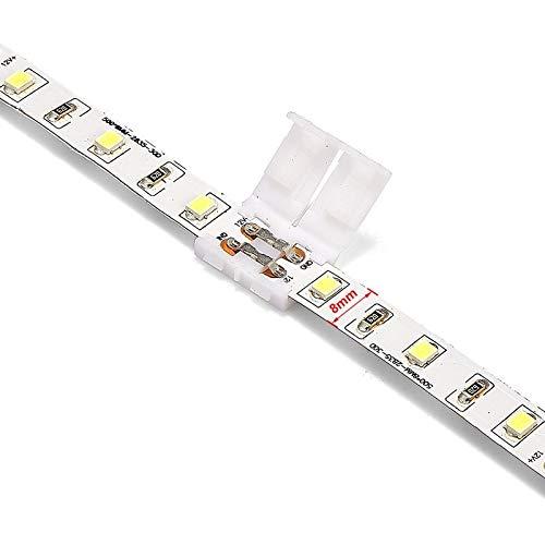 Gimax 1000pcs 2 Pin 4 Pin 5 Pin Connectors 8mm 10mm 12mm No Soldering For 3528 2835 5050 RGB RGBW RGBWW LED Strip Lights - (Color: 4 pin 10mm, Connector Type: Panel Connector) by GIMAX (Image #5)