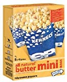 All Natural - 8pk Butter Mini Bags Microwave Popcorn -5Lbs