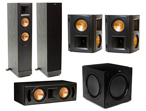 Klipsch Reference RF-62 II 5.1 Channel Surround Speaker Bundle with RS-62 II Rear Speakers