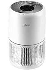 LEVOIT Luftrenare H13 HEPA luftfilter för allergiker, luftrensare mot 99,97 % av pollen dammrök, CADR 187 m³/h, upp till 40㎡,4 fläktnivåer timer tyst viloläge för rökrum, Core 300